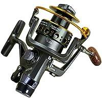 Fisher Tete de Metal Roue de Frein Avant et Arriere Roue de pêche Roue de mer Roue de Lancer Carpe Roue Carpe Moulinet