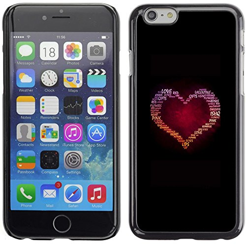 Graphic4You Cupids Arrows Design Harte Hülle Case Tasche Schutzhülle für Apple iPhone 6 Plus / 6S Plus Design #12