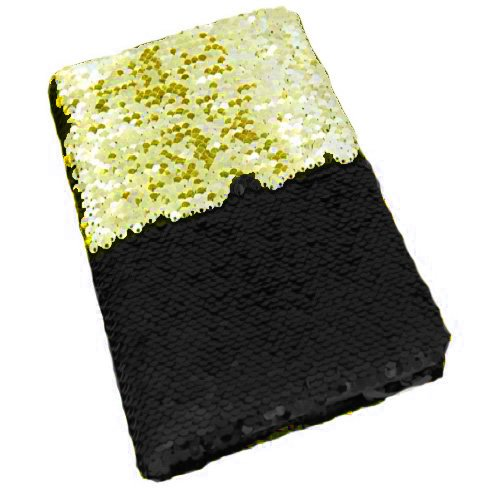 LilyPin™ presents very nice mermaid diary with golden black pattern