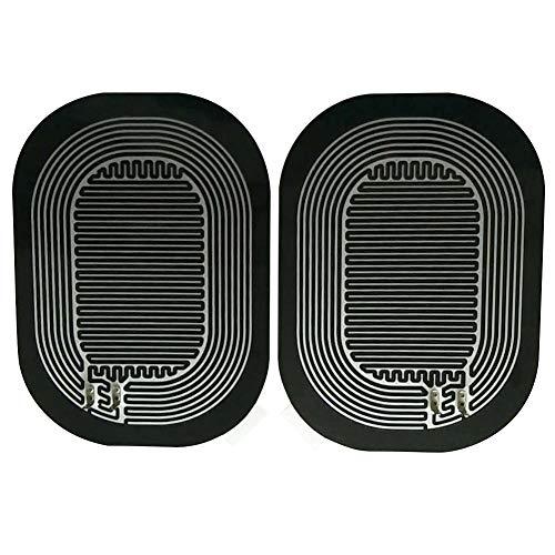 Preisvergleich Produktbild Eillybird Rainproof retroreflector Heated Glass Defrosting Plates Rain-Proof Retroreflector Heating Film Car Rear-View Mirror Glass Heated Pad