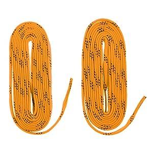 FLAMEER 1Paar Schnürsenkel Nylon Flachsenkel Flache Schuhbänder für Schlittschuhe Rollschuhe usw.