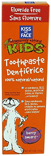 Kiss My Face Gentle Fluoride Free Toothpaste for Kids-Berry Smart-4 oz by...