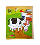 Dcs Wooden Cows Puzzle