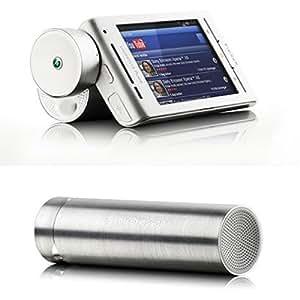 Enceinte mini portable MS430 Grise Alu d'origine Sony Ericsson pour LG Optimus F5