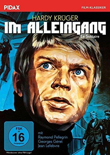 Bild von Im Alleingang (Le Solitaire) / Spannungsgeladener Gefängnisfilm mit Hardy Krüger (Pidax Film-Klassiker)