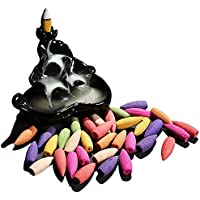 Rückfluss Räucherkegel mit Räucherstäbchen Halter Incense Cones Gemischte Düfte Reflux Rückfluss Räucherstäbchen... preisvergleich bei billige-tabletten.eu