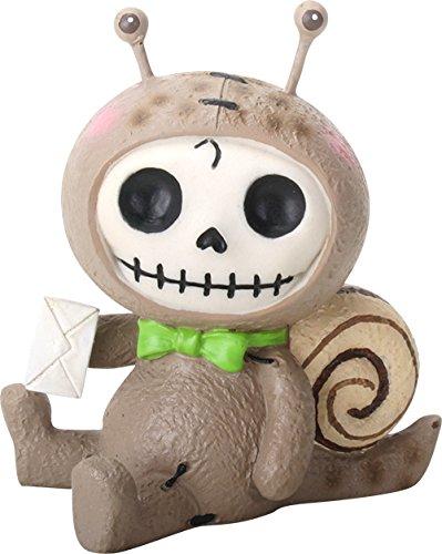 Monster Dem Bett Kostüm Unter - YTC SUMMIT Ebros Geschenk Furrybones Den Den Figur Sonnenblume Kapuzen Skelett der Schnecke, Monster Sammelfiguren