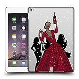 Head Case Designs Schwarze Frau In Einem Roten Kleid Wein Fest Ruckseite Hülle für iPad Air 2 (2014)