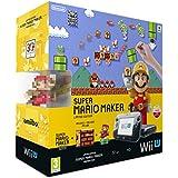 Nintendo Wii U - Consola Premium HW + Mario Maker (Preinstalado) + Artbook + amiibo Mario, Colores Clásicos