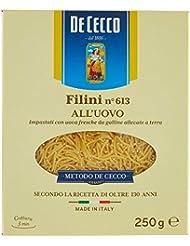 De Cecco Filini all'Uovo, Impasati con Uova Fresche - 250 gr
