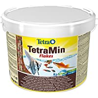 Tetra Min Fish Food, Complete Food for All Tropical Fish for Health, Colour and Vitality, 10 Litre