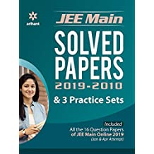 16 Years' Solved Papers JEE Main 2020