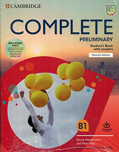 Complete Preliminary Self Study Pack SB