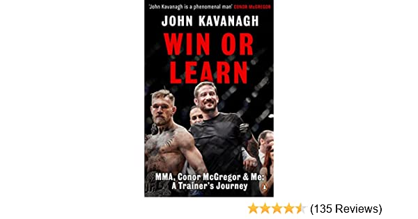 Ongekend Win or Learn: MMA, Conor McGregor and Me: A Trainer's Journey BX-69