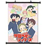 School Babysitters Anime Fabric Wall Scroll Poster (16x23) Inches