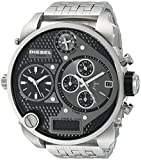 Diesel Herren-Armbanduhr XL Mr. Daddy Multi Movement Analog - Digital Quarz Edelstahl DZ7221