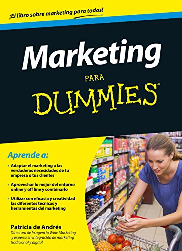 Marketing para Dummies por Patricia de Andrés