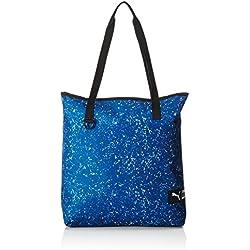 Puma Fundamentals–Bolsa de la compra (bolsa de II, color True Blue/Aruba Blue/Speckle, tamaño talla única
