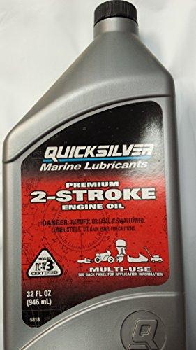Quecksilber von Quicksilver Premium 2Cycle 2Stroke Außenborder Öl 900ml -