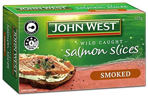 John west salmone affumicato a fette 125gm