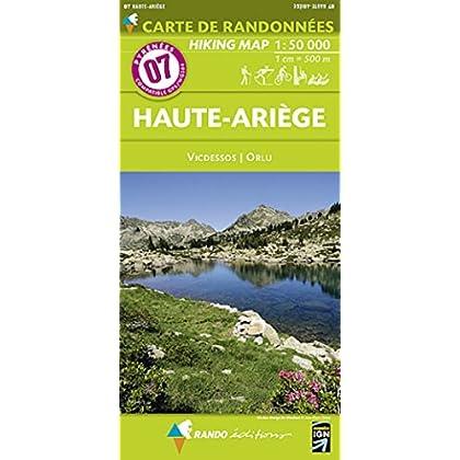07 HAUTE-ARIEGE  1/50.000