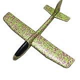 Dreemaro Kinderspielzeug Hand wirft Flugzeug Farbe Bubble Swing Flugzeug Kinder Modell Schaukel Spielzeug (grün)