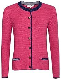 d0c19c746f7b Gweih   Silk Damen Trachten-Mode Trachtenstrickjacke Minza in Pink  traditionell