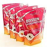 Lote Descubrir 4 Maxi bolsas de 450 gr Preparaciones hiperproteicas para realizar 72 bebidas para dieta proteica adelgazante