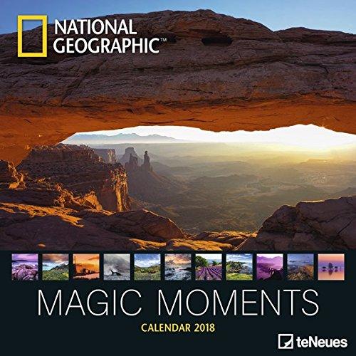 2018 National Geographic Magic Moments Calendar - teNeues Grid Calendar - Photography Calendar - 30 x 30 cm