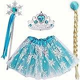 Conjunto Accesorios Princesa Hielo (4 pcs)