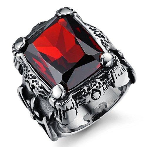 OPK-joyera-piedras-preciosas-de-Punk-Heavy-Metal-de-acero-inoxidable-de-juego-de-anillos-de-compromiso-de-rub