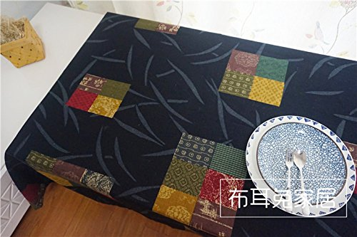 dadao-national-wind-tablecloth-fabrics-cotton-linen-black140140cm