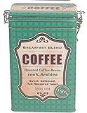 "Kaffeedose Aromadose Dekodose Nostalgie Retro Stahlblech ""Coffee"" Breakfast Blend 7"