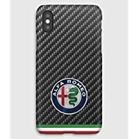 Case Cover Schutzhülle für iPhone X, 8, 8+, 7, 7+, 6S, 6, 6S+, 6+, 5C, 5, 5S, 5SE, 4S, 4, Alfa Romeo