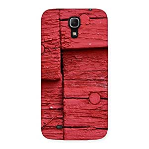 Special Nailed Red Wood Designer Back Case Cover for Galaxy Mega 6.3