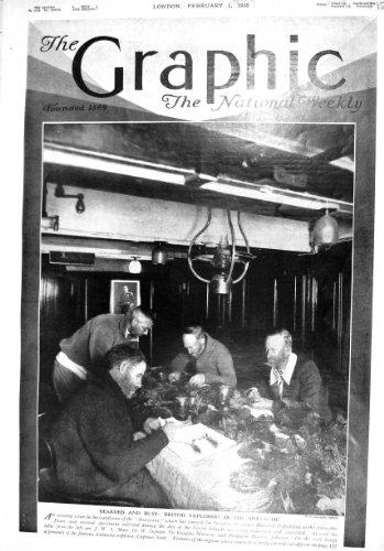 1930 Britische Forscher-Antarktische Offiziersmesse-Schiffs-Entdeckung Mawson Ingram