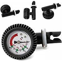 SDYDAY - Medidor de presión de inflado para Kayak con válvula de inflado de presión de Bomba de Aire con medidor preciso de presión de Aire para Barco Hinchable Kayak