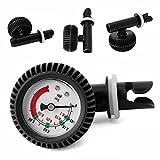 SDYDAY Inflation Manometer Kajak Test Air Pumpe Druck Inflation Ventil mit Manometer Präzise Heavy Duty Air Druck Tire Gauge Tester für aufblasbare Boot Raft Kajak