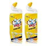 2x WC Ente Citrus-Gel WC Reiniger Citrus 750 ml