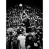 Coleman Rugby Line Out New Zealand Photo Large Wall Art Poster Print Thick Paper 18X24 inch Nouvelle-Zélande Photographier Mur Impression d'affiches