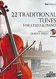FENTONE MUSIC 22 TRADITIONAL TUNES - VIOLONCELLE ET PIANO + CD Klassische Noten Cello