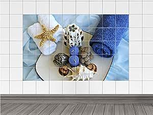 Piastrelle adesivo piastrelle immagine bagno assortimento con