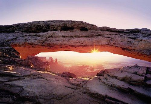 """Preisvergleich Produktbild Komar Fototapete National Geographic """"ARC CANYON"""",  368x254cm,  8-teilig,  Arch Canyon in Utah - USA,  deutsches Qualitätsprodukt"""