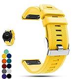 Garmin f?nix 5 GPS-Multisport-Smartwatch Uhr Ersatzband, iFeeker Weiche Silikon Schnellinstallation Armbanduhr Gurt Riemen für Garmin Fenix 5 GPS-Multisport-Smartwatch