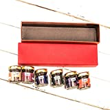 #9: Decadenz Chocolate Fudge Gift Pack | High on Chocolate | Gift Box of 6 Assorted Mini Jars - 30 Gms Each