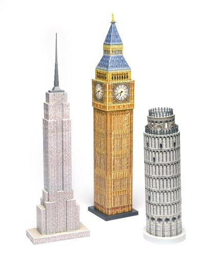 Imagen 2 de Monumental Puzzles - Puzzle 3D de 228 piezas (Funtime Gifts)