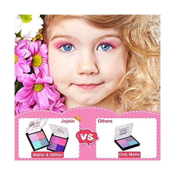 Jojoin Trucchi Bambina Set, 19 Pezzi Lavabile Makeup Set per I Bambini con 2 Clip di Colore, 3 Smalto per Unghie di… 3 spesavip