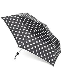 FULTON Mini-Flat 1 Parapluie, Noir, Taille Unique