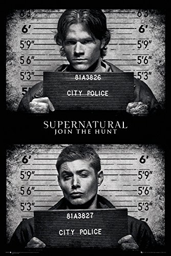 GB eye LTD, Supernatural, Mug Shots, Maxi Poster, 61 x 91,5 cm