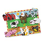 Melissa & Doug 13723 Wooden -Chunky Puzzles